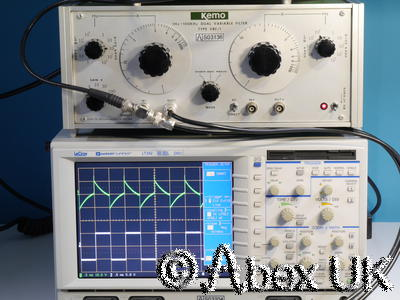 Kemo VBF-1 1Hz to 100kHz Dual Variable Filter