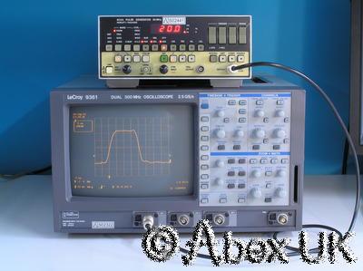 LeCroy 9361 Oscilloscope Digital, 300MHz, 2.5GS/s Dual Trace (1)