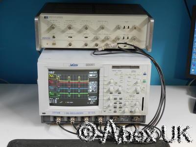 LeCroy LC574AM 1GHz 10Gs/s 4-Channel Digital Oscilloscope