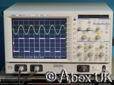 LeCroy LT342 500Ms / 500MHz Dual Channel LCD Digital Oscilloscope