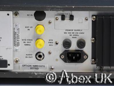 Marconi Instruments (IFR, Aeroflex) 2305 AM/FM 2.3GHz Modulation Meter (2)