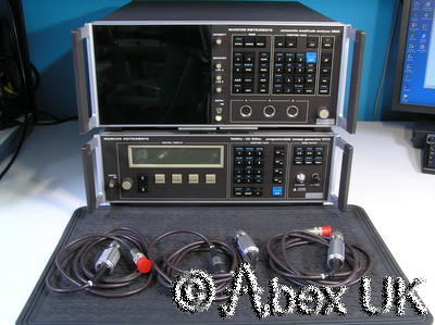 Marconi Instruments (IFR) 6500 / 6313 10MHz - 26.5GHz Network Analyser System