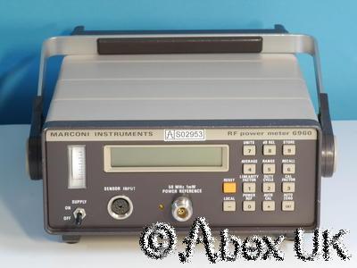 Marconi Instruments (IFR, Aeroflex) 6960 RF Power Meter