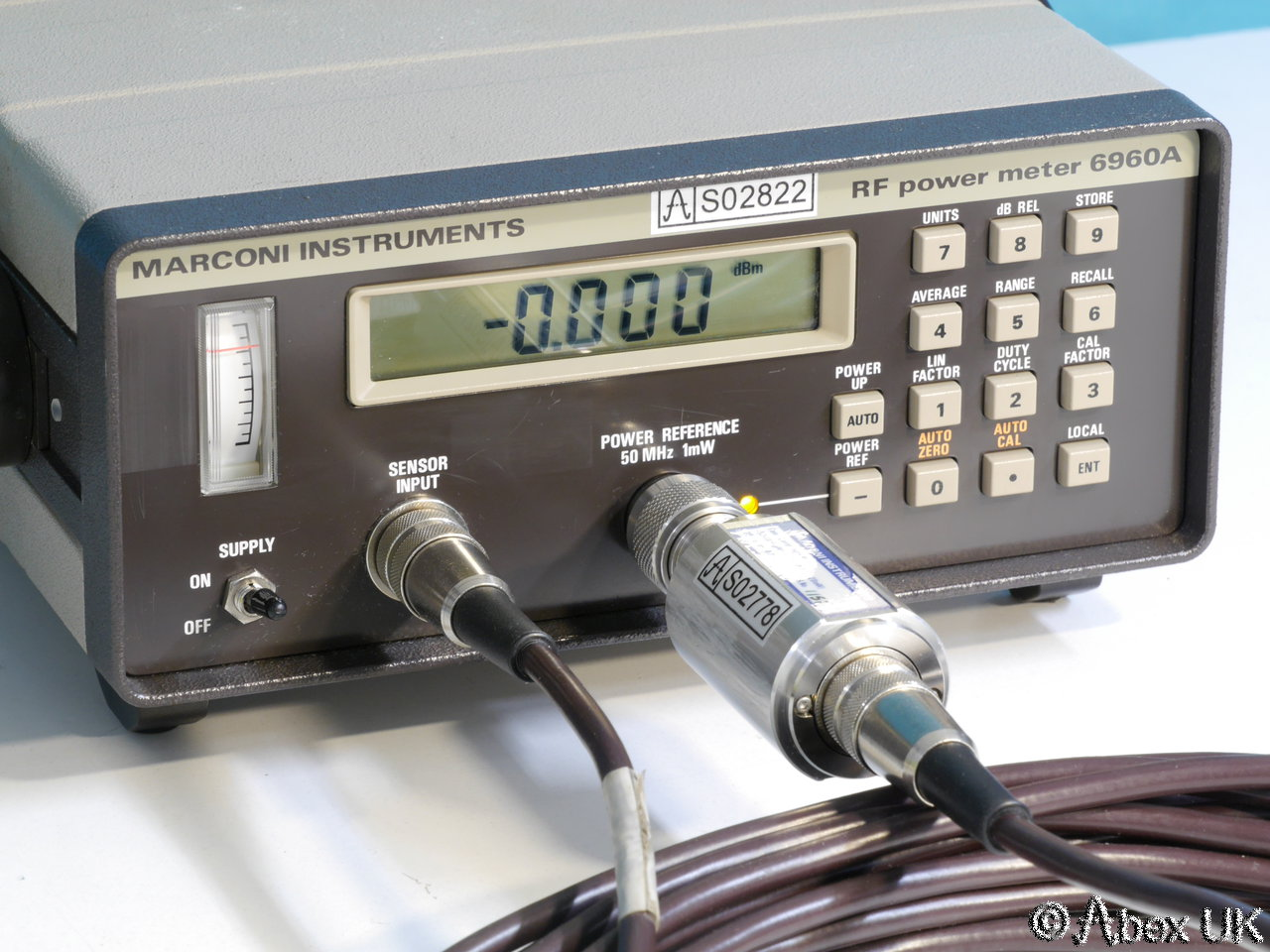Rf Power Meter : Marconi instruments ifr aeroflex a rf power meter