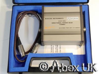 Marconi Instruments (IFR) 54421-002L 2955 Power Sensor Ham / HF 1-50MHz (2)