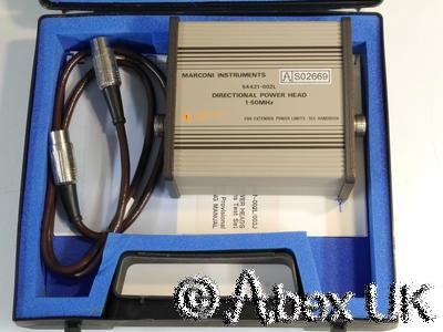 Marconi Instruments (IFR) 54421-002L 2955 Power Sensor Ham / HF 1-50MHz (3)