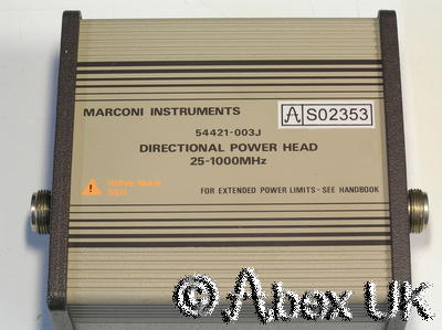 Marconi Instruments (IFR) 54421-003J 2955 Directional Power Sensor 25-1000MHz