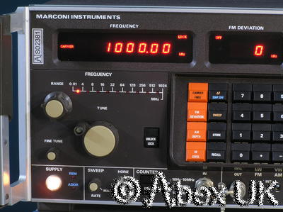 Marconi Instruments (IFR) 2017 1024MHz AM/FM/Pulse Low Noise Signal Generator