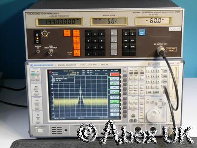 Marconi Instruments (IFR, Aeroflex) 2019 AM/FM/Pulse Signal Generator 1040MHz