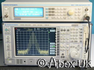 Marconi Instruments (IFR, Aeroflex) 2023 1.2GHz AM/FM Signal Generator