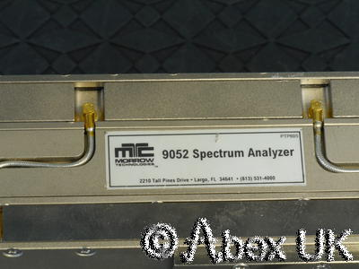 Morrow Technologies 9052 1.6GHz ISA Spectrum Analyser Module (3)