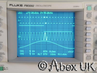 Philips PM3092 200MHz 4-Channel Analogue Oscilloscope RS232