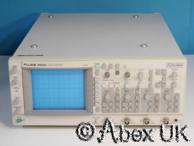 Philips PM3092 4-Channel 200MHz Oscilloscope Cursors and Dual/Delayed timebase 2