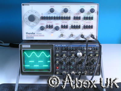 Philips PM3217 Dual Channel 50MHz Analogue Oscilloscope