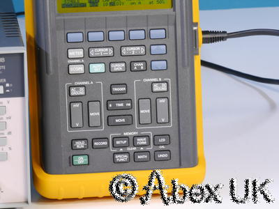 Philips (Fluke) PM97 50MHz Scopemeter Full Acc. Kit Oscilloscope DVM Probes (2)