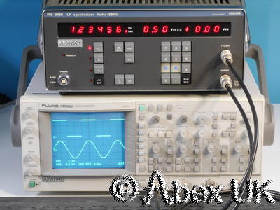Philips PM5190 LF Synthesiser Signal Generator 1mHz to 2MHz (2)