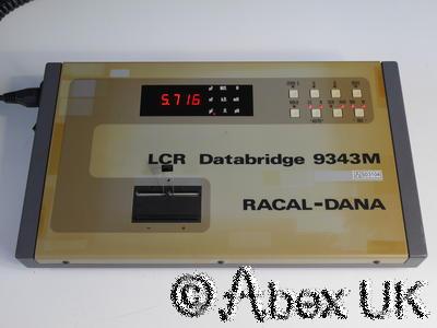 Racal 9343M LCR Databridge Universal Component Bridge (3)