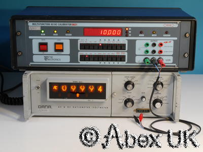 Racal Dana 5643 Nixie Digital Multimeter Ultra Rare Vintage Classic