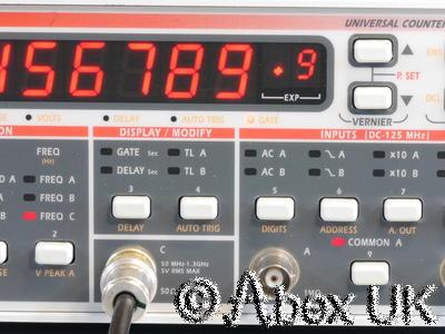Racal 2202R 1.3GHz Universal Counter Timer Rubidium Reference (Atomic Standard)