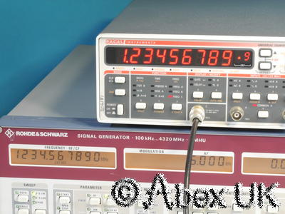 Racal 2202R 1.3GHz Universal Counter Timer Rubidium Reference (Atomic Standard)