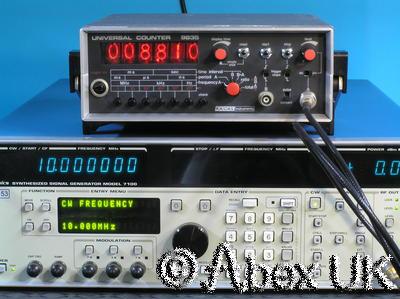Racal 9835 Nixie Universal Counter/Timer