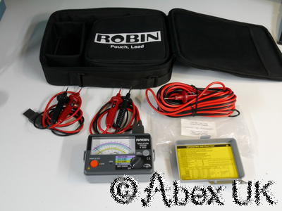 Robin K3323 Insulation Tester Kit 100V