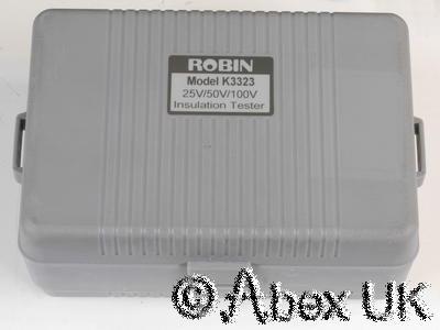 Robin K3323 Insulation Tester Kit 100V