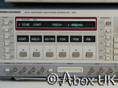 Rohde & Schwarz ADS 25MHz Synthesiser Arbitrary Function Generator