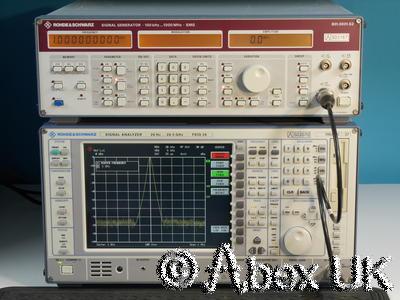 Rohde & Schwarz SMG 0.1-1000MHz AM / FM Signal Generator (3)