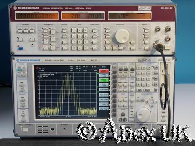 Rohde & Schwarz SMG 0.1-1000MHz AM / FM Signal Generator B1. B2  (5)