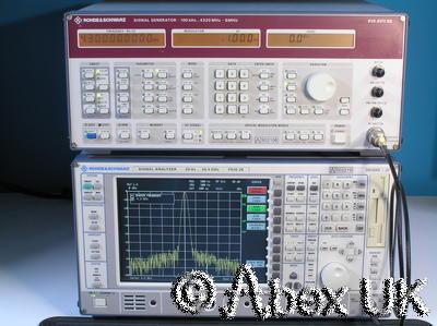 Rohde & Schwarz SMHU Low Noise Vector Signal Generator 100KHz - 4.3GHz (1)