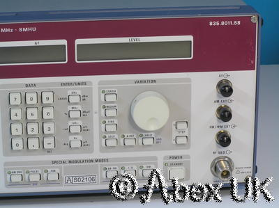 Rohde & Schwarz SMHU Low Noise Vector Signal Generator 100KHz - 4.3GHz (1)