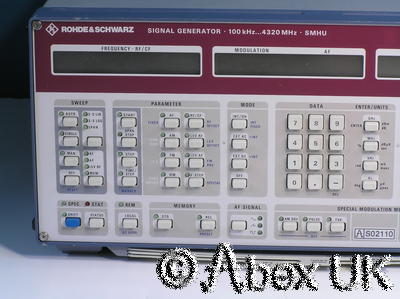 Rohde & Schwarz SMHU Low Noise Vector Signal Generator 100KHz - 4.3GHz (2)