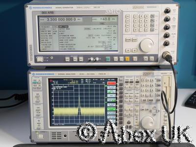 Rohde & Schwarz SMIQ03B-B60 3.3GHz Vector Signal Generator ARB AWG +OPTIONS (2)