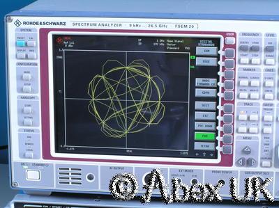 Rohde & Schwarz FSEM20 Spectrum / Signal Analyser 9kHz - 26.5GHz