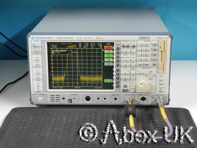 Rohde Schwarz FSIQ26 Spectrum Signal Analyser 26GHz Options (Tracking Generator)