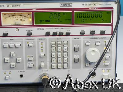 Rohde & Schwarz ESVD 20MHz to 2.05GHz Level Measuring Receiver EMC/RFI