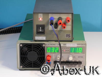 RS 814-001 Triple Linear Bench Power Supply 5V 2A +/-12V 300mA Audio / Radio