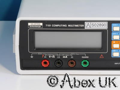 Solartron (Schlumberger) 7151 Computing 6.5 Digit Digital Multimeter GPIB (1)