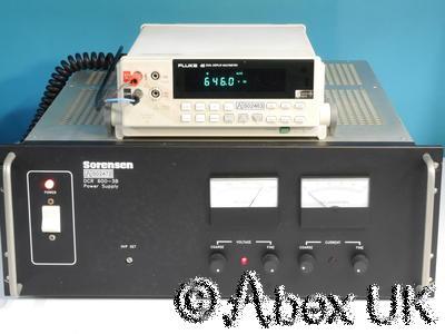 Sorensen DCR600-3B 1800 Watt Power Supply, 0-600V 0-3A