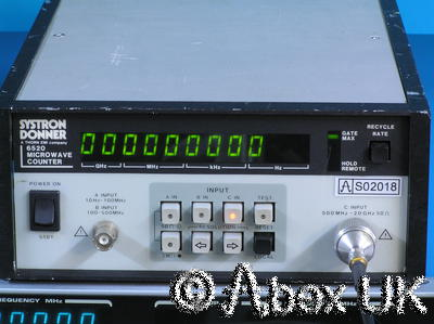 Systron Donner 6520 20GHz Frequency Counter