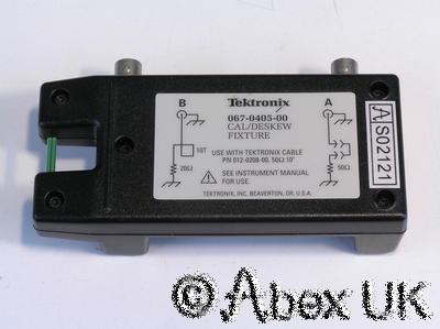 Tektronix 067-0405-00 TDS7000 Cal/Deskew Test Fixture