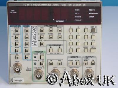 Tektronix FG5010 Programmable 0.01Hz - 20MHz Function Generator Plugin