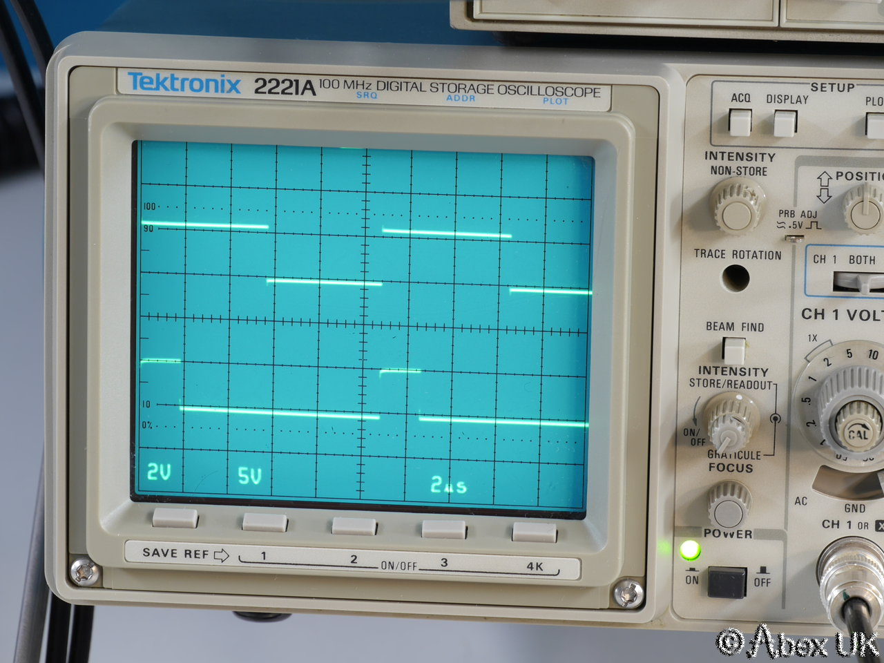 Best Tektronix Oscilloscope : Tektronix a mhz analogue digital oscilloscope