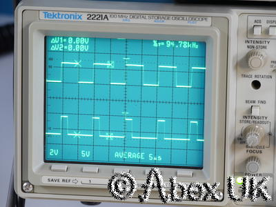 Tektronix 2221A 100MHz Analogue / Digital Oscilloscope Dual Trace TV Trig GPIB
