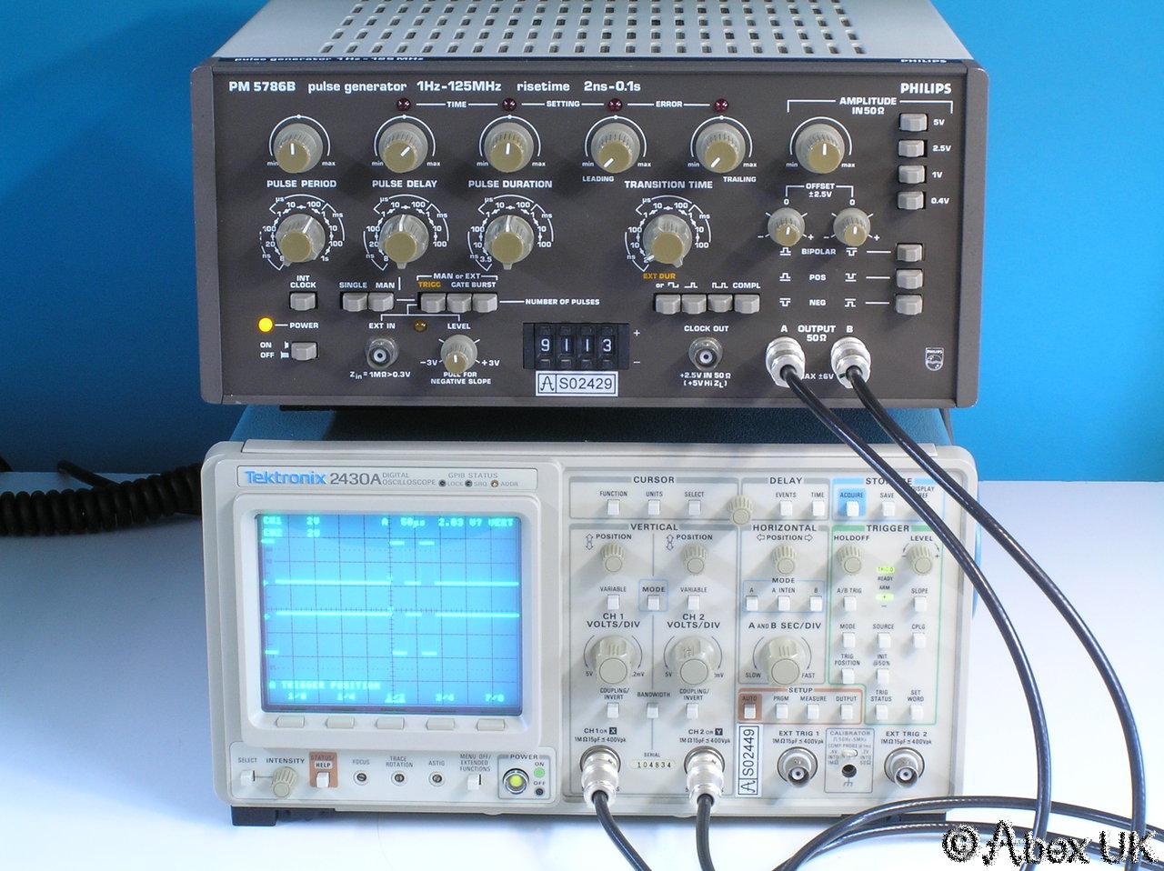 Best Tektronix Oscilloscope : Tektronix a digital oscilloscope dual channel mhz