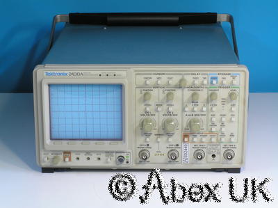 Tektronix 2430A Digital Oscilloscope, Dual Channel, 150MHz, GPIB