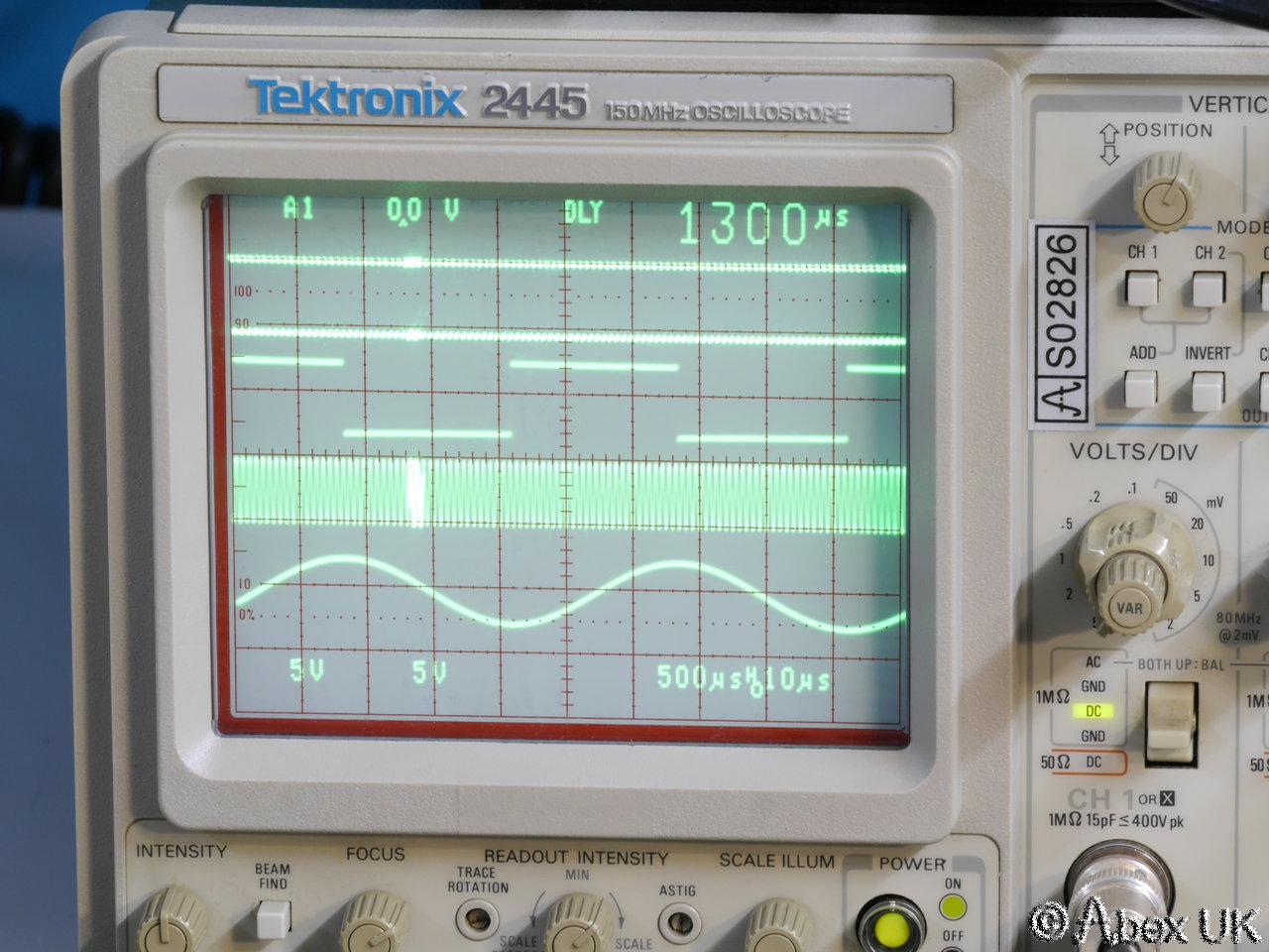 how to open tektronix oscilloscope