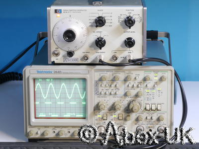 Tektronix 2445 Oscilloscope 4 Channel 150MHz Dual Timebase and Cursors (3)