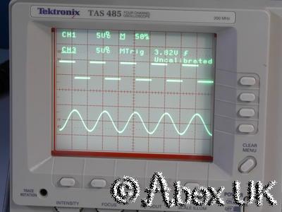 Tektronix TAS485 200MHz Quad Channel Oscilloscope Dual Timebase / Cursors (2)